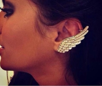 jewels cuff silver wings