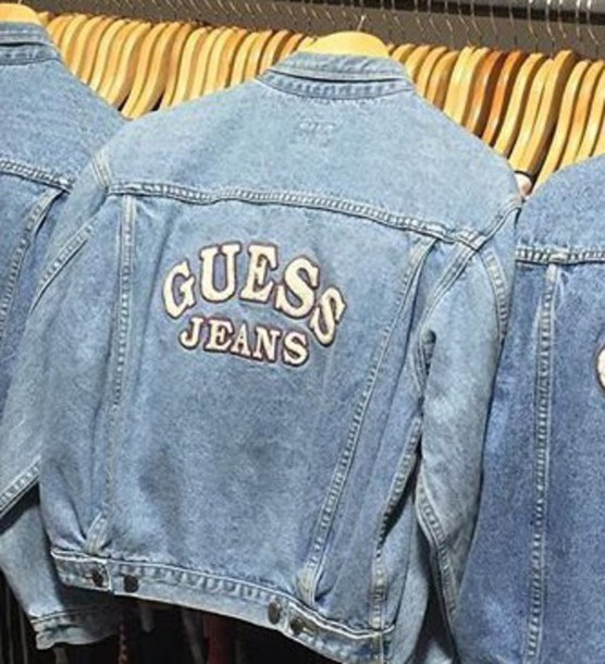 Jacket Guess Denim Jacket Usa Jean Jackets Jeans Og Fashion