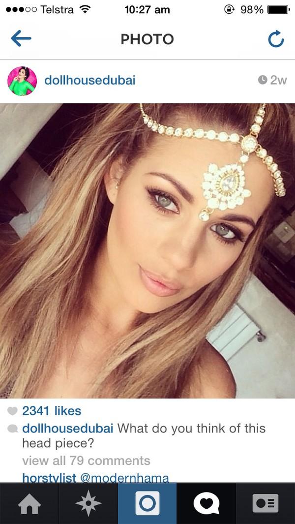 jewels silver  chain head jewels head jewels hair accessory