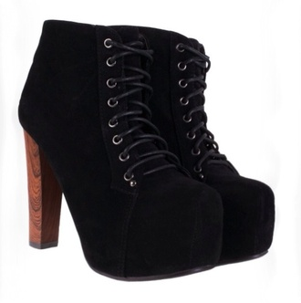 shoes heels ankle boots black heels lace up high heels boots with laces boots style fashion gorgeous
