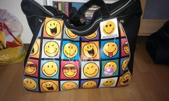 bag emotion holidays smiley emoji stickers