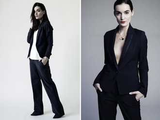anouska proetta brandon blogger tailoring blazer pendant