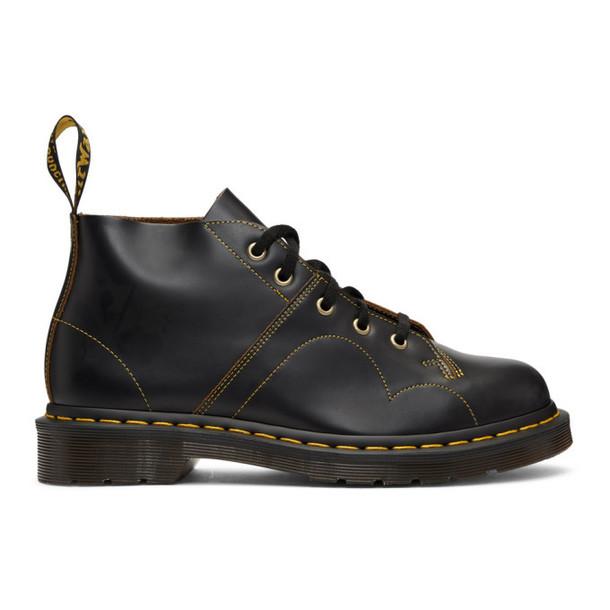 Dr. Martens Black Vintage Church Boots