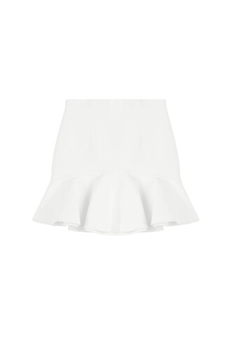 skirt mini skirt mini cotton white
