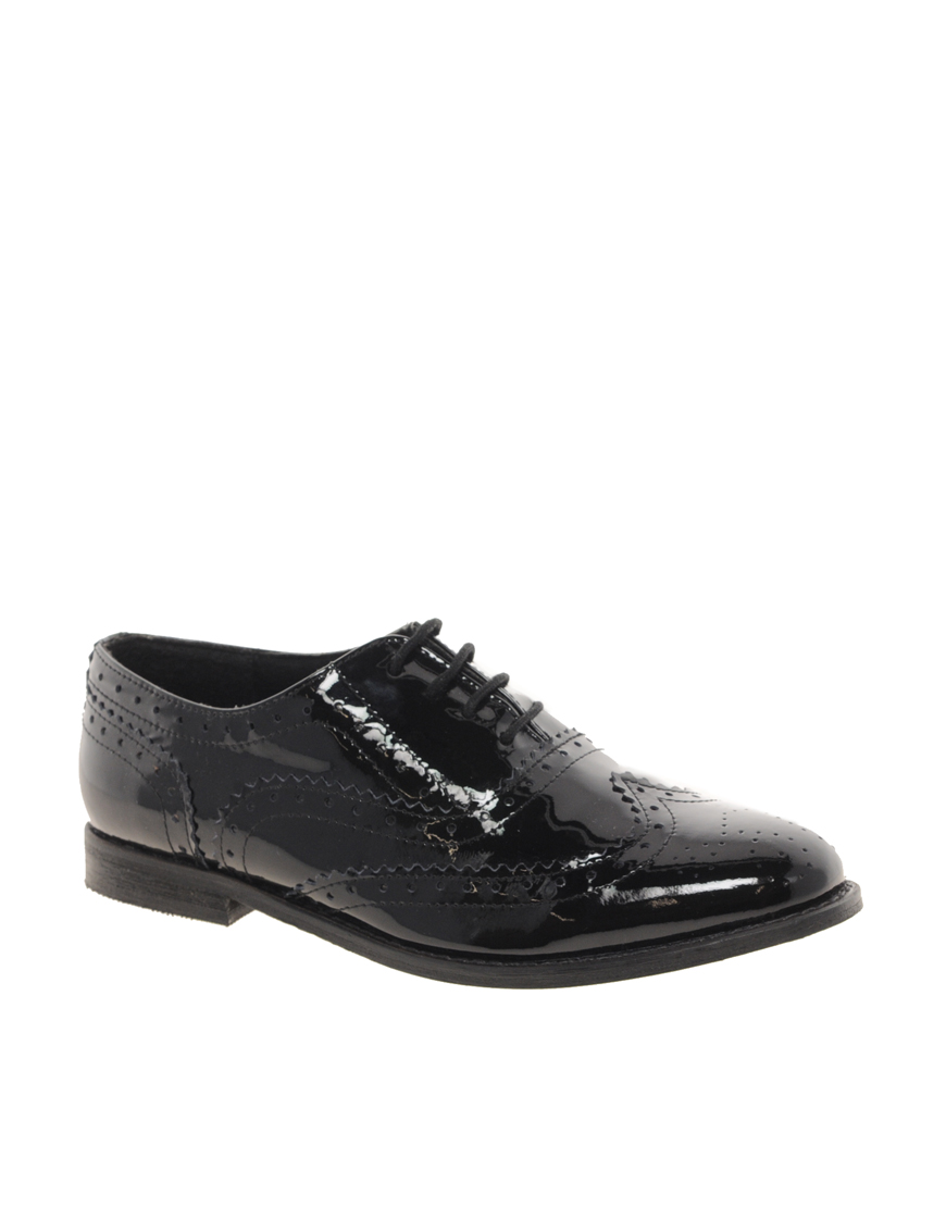 ASOS MARKY Leather Brogues at asos.com