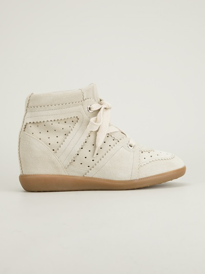Isabel Marant 'bobby' Hi-top Trainer -  - Farfetch.com