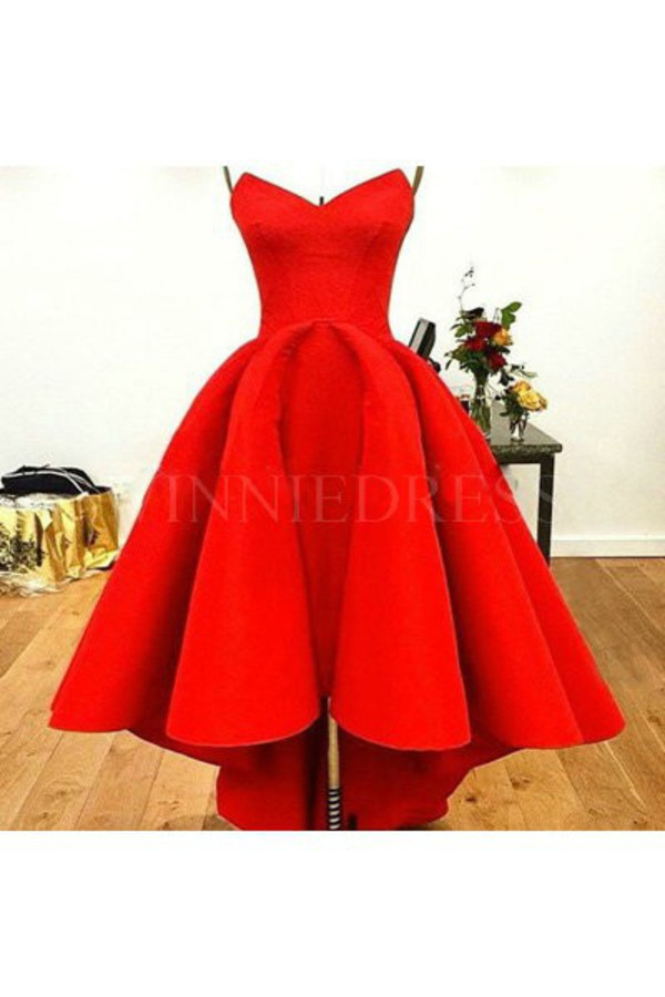 dress, red dress, red prom dress, high low dress, high low, high low ...