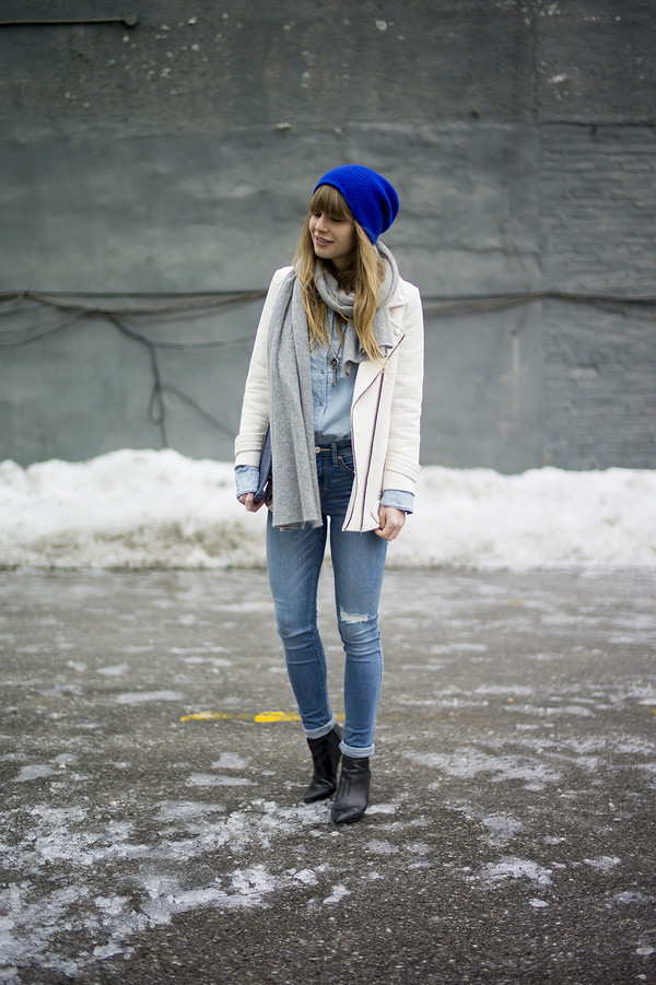 just another me jeans shirt coat hat scarf bag jewels shoes