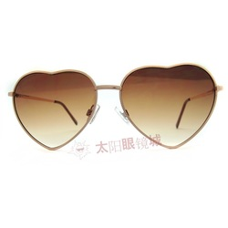 Personnalité de la mode des lunettes de soleil tendance vintage coeur. drôle. lunettes lunettes de soleil