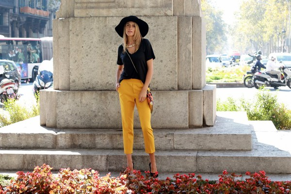 tu nuevo look blogger bag jewels t-shirt lemongrass