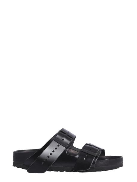 Rick Owens Arizona Birkenstock Sandals in nero