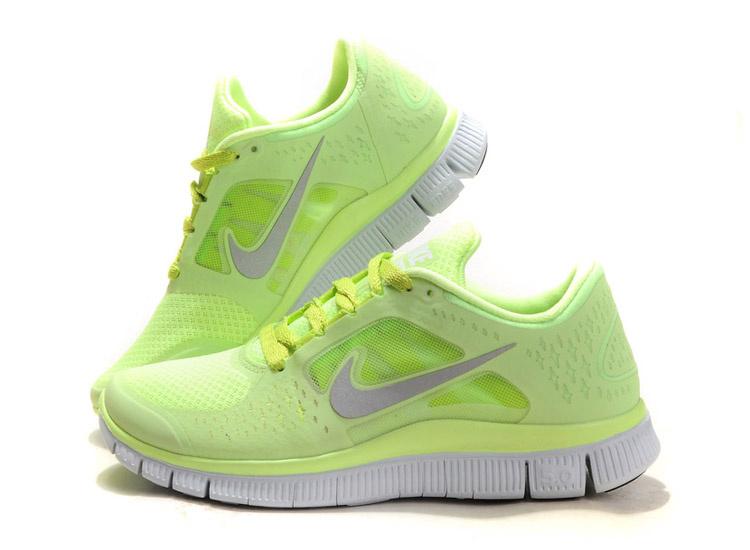 Nike free 3 damen fluorescence gelb laufschuhe nike free run 2 herren