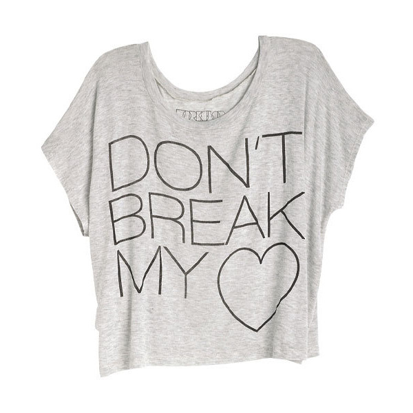 Don't Break My Heart Tee