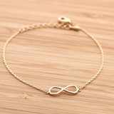 girlsluv.it - simple INFINITY bracelet, 3 colors