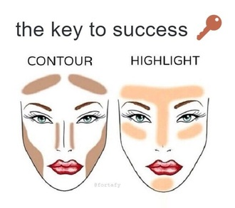 make-up mac cosmetics tommy hilfiger calvin klein shoes shirt black dress contour highlighter makeup palette