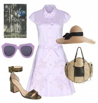 dress hat sunglasses shoes bag