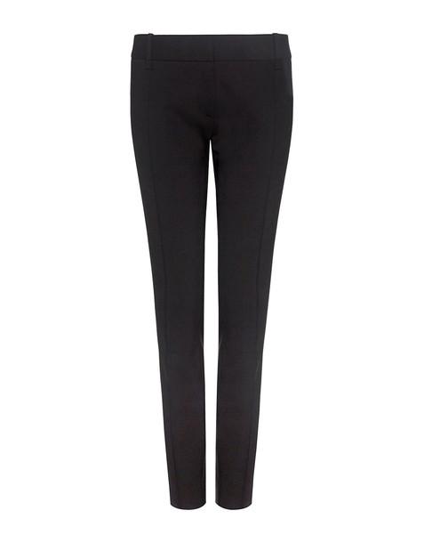 pants cropped pants cropped zip black wool