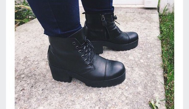 shoes blackboots