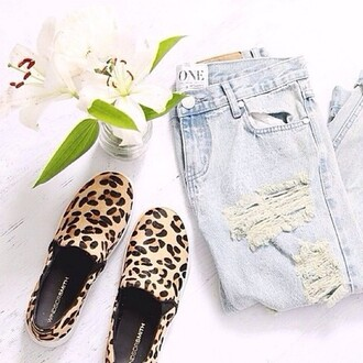 shoes print sneakers animal print