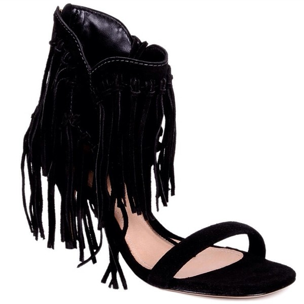 shoes black high heels sandals schutz