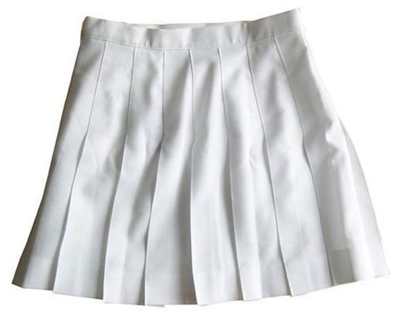 skirt mini skirt white skirt white pleated pleats