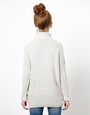 New Look | New Look Cable Jumper at ASOS