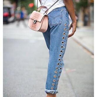 jeans nastygal denim after party vintage levi's boyfriend grilfriend detailing basics fashion style trendy