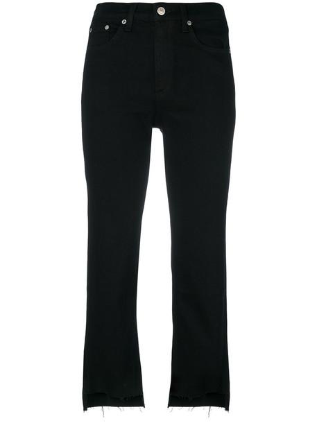 Rag & Bone jeans cropped jeans cropped women cotton black