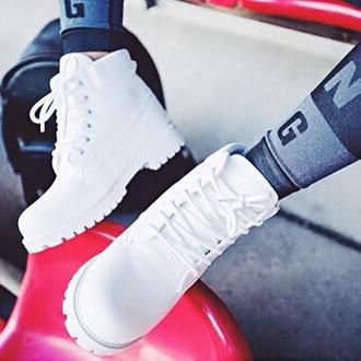 shoes white shoes leggings