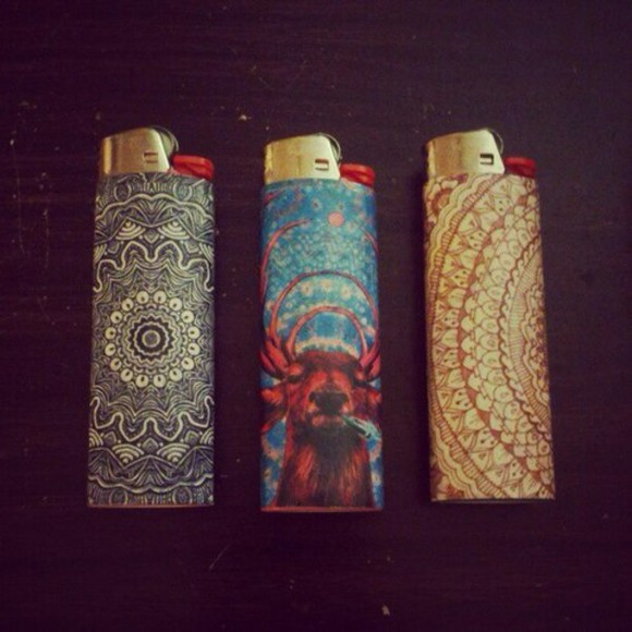 lighter jewels smoke hipster hippie colourful dope