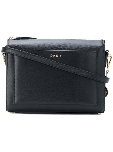 DKNY zip women bag crossbody bag leather black