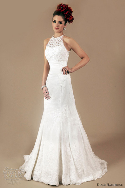 dress clothes halter neck debutante lace dress formal dress