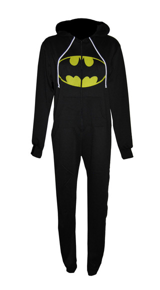 batman coat onesie