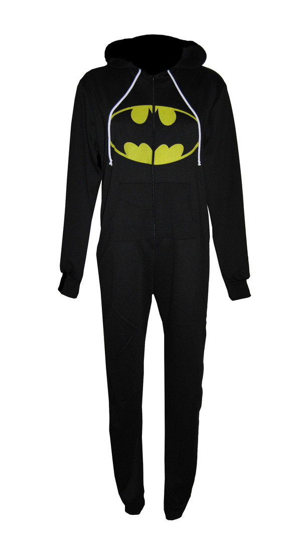 coat onesie batman