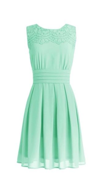 dress mint dress spring dress summer dress modest dress mint