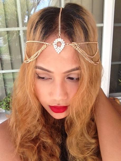 jewels head jewels gold head piece head jewels gold hair jewelry