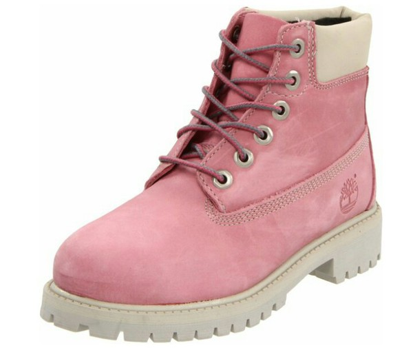 shoes pink timberland boots