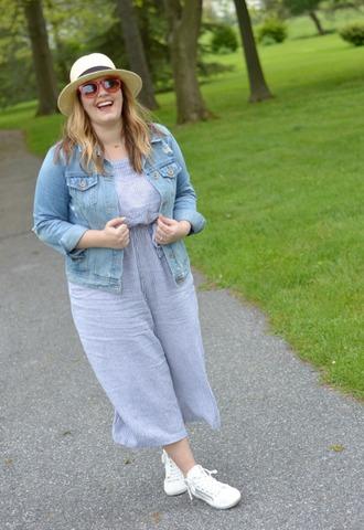mommyinheels blogger jacket romper shoes hat sunglasses