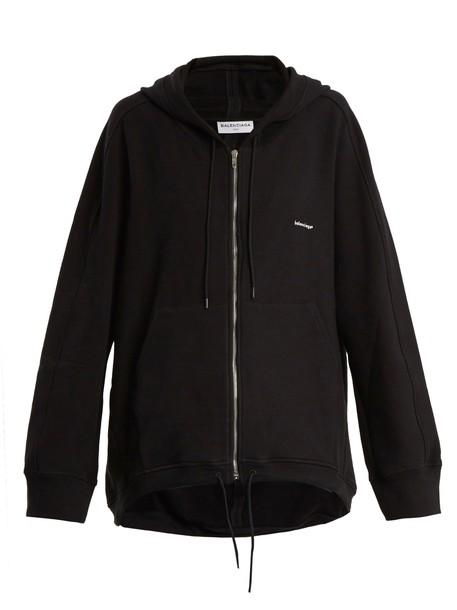 Balenciaga sweatshirt black sweater