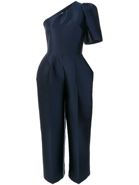 Stella McCartney jumpsuit women blue silk