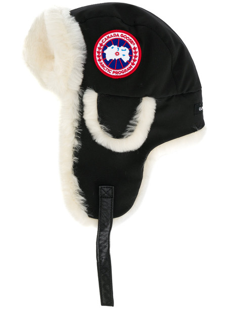 canada goose women hat nude cotton