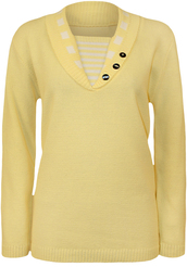 yellow,clothes,accessories,shirt,top,jumper,cardigan,default category,sweater