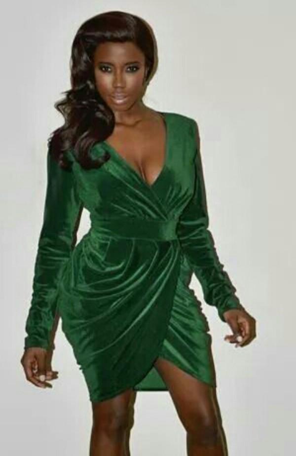 Sexy Dress Green Velvet Green Velvet Dress Wheretoget