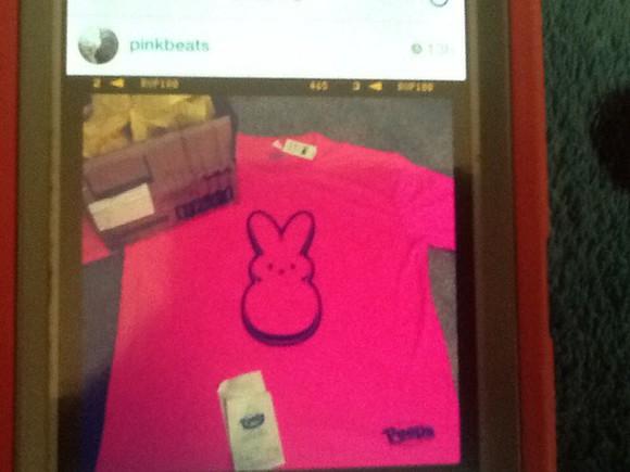 metallic instagram blouse peeps bunny bunny shirt pink purple ester Esterbunny package rabbit bunnies bunny rabbits Bunnyrabbit yellow Metallicshirt