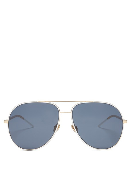 dior sunglasses aviator sunglasses blue