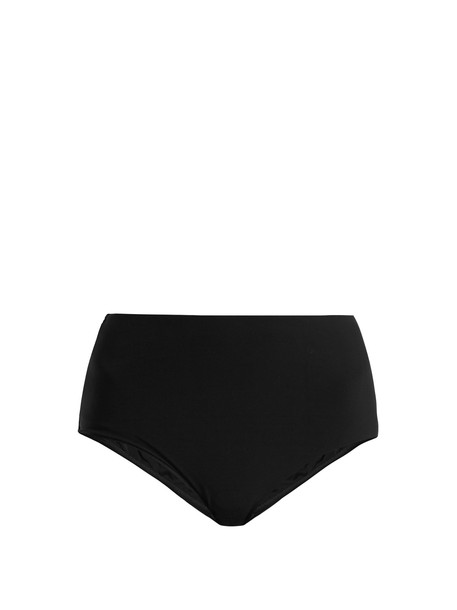 Zimmermann bikini high black swimwear