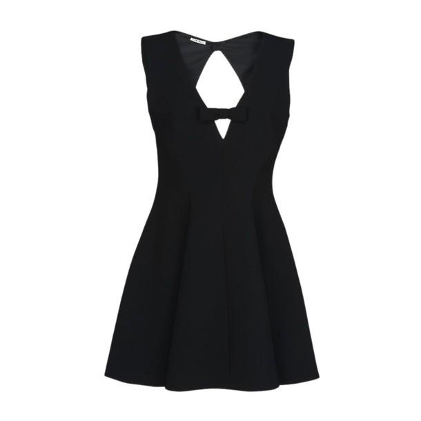 Miu Miu dress mini dress mini back open black
