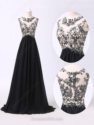 dress prom black black and white maxi dress