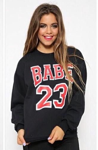 top babe 23 hoody sweatshirt hood