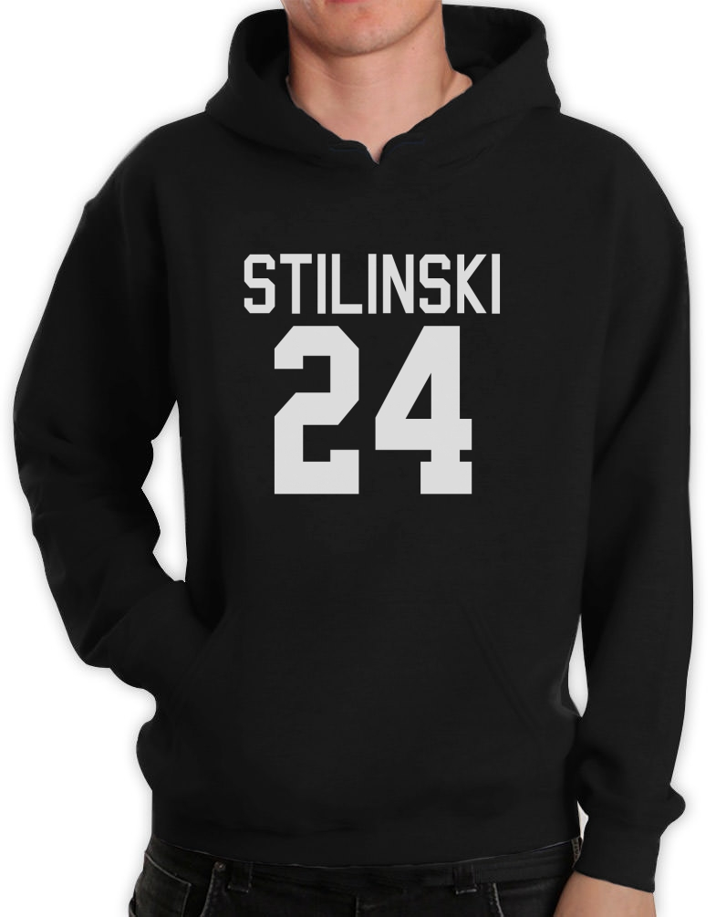 Stilinski 24 Hoodie Stiles Teen Wolf Laccrosse Halloween Costume Idea Hooded Top